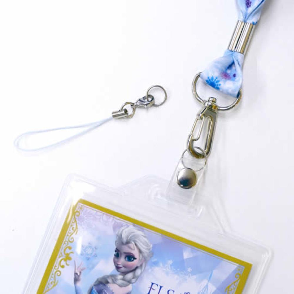 アナと雪の女王 カードホルダー付きネックピース(エルサ)