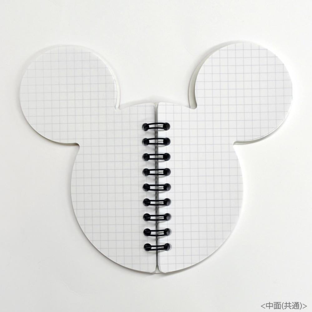 ディズニー ミッキー シンメトリーノート(ミツマル黒)