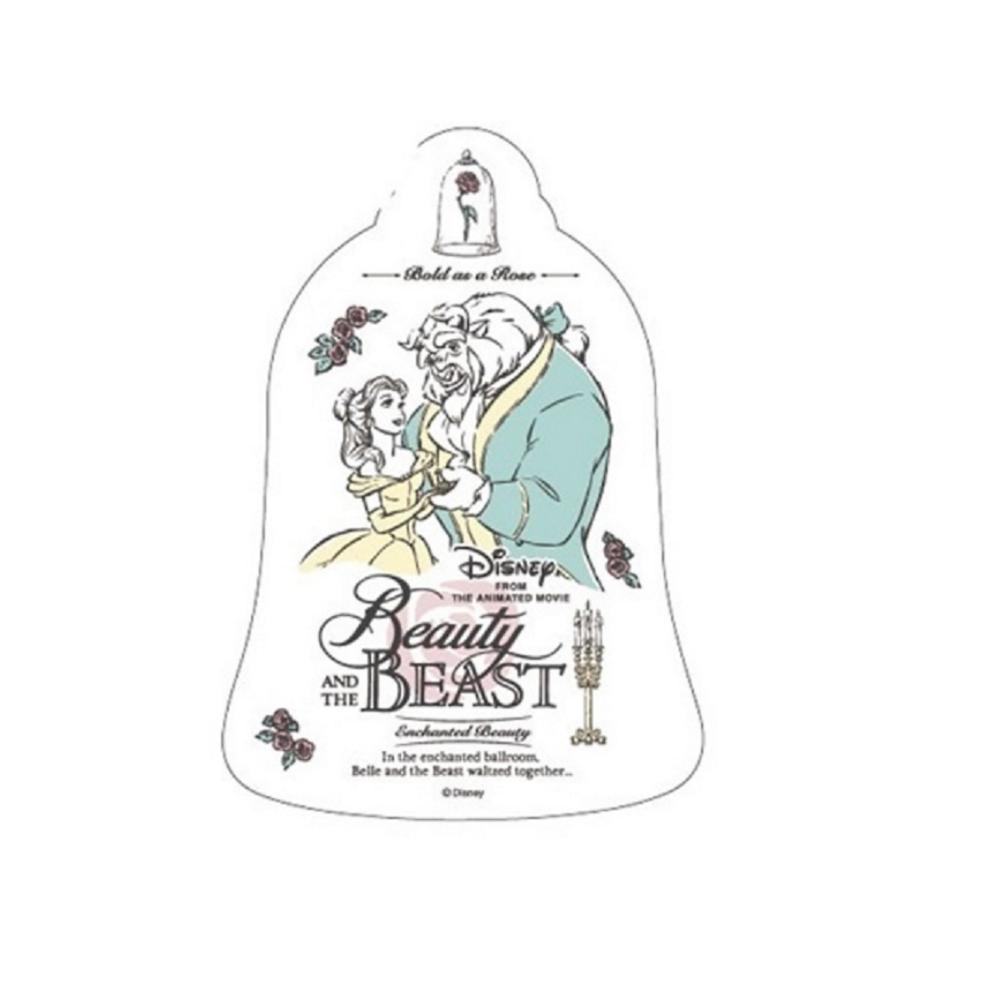 ディズニー映画「美女と野獣」 フレグランスポストカード(ベル&ビースト)