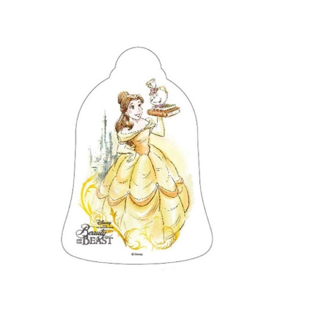 ディズニー映画「美女と野獣」 フレグランスポストカード(ベル&ポット夫人)