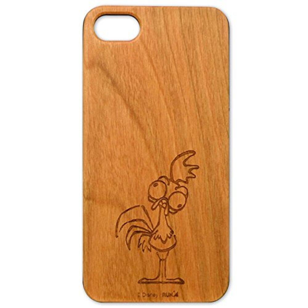 モアナと伝説の海 木製iPhone 7ケース(ヘイヘイ)