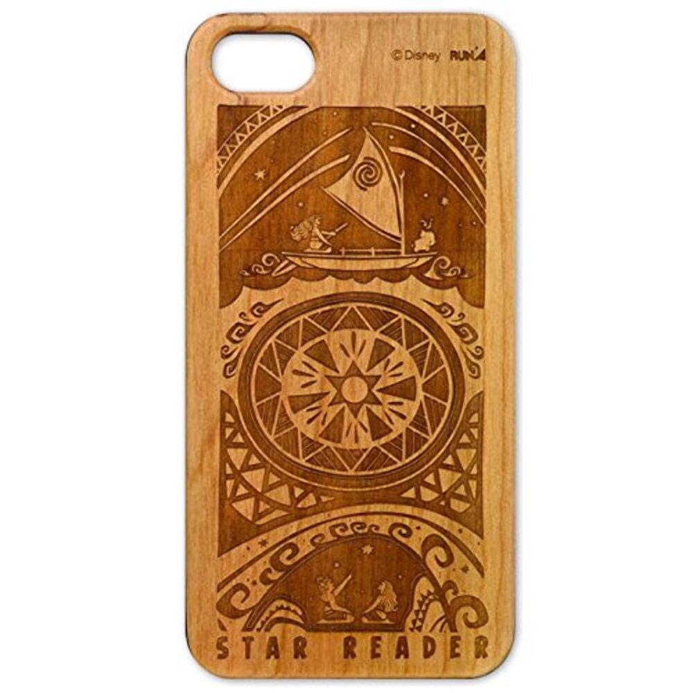 モアナと伝説の海 木製iPhone 7ケース(壁画)