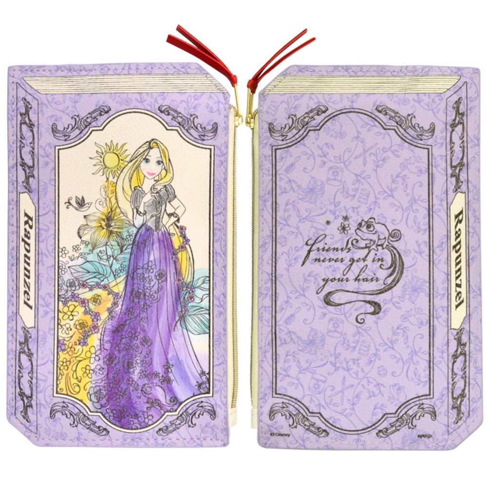 Disney プリンセス 2Dブック型ポーチ(ラプンツェル)