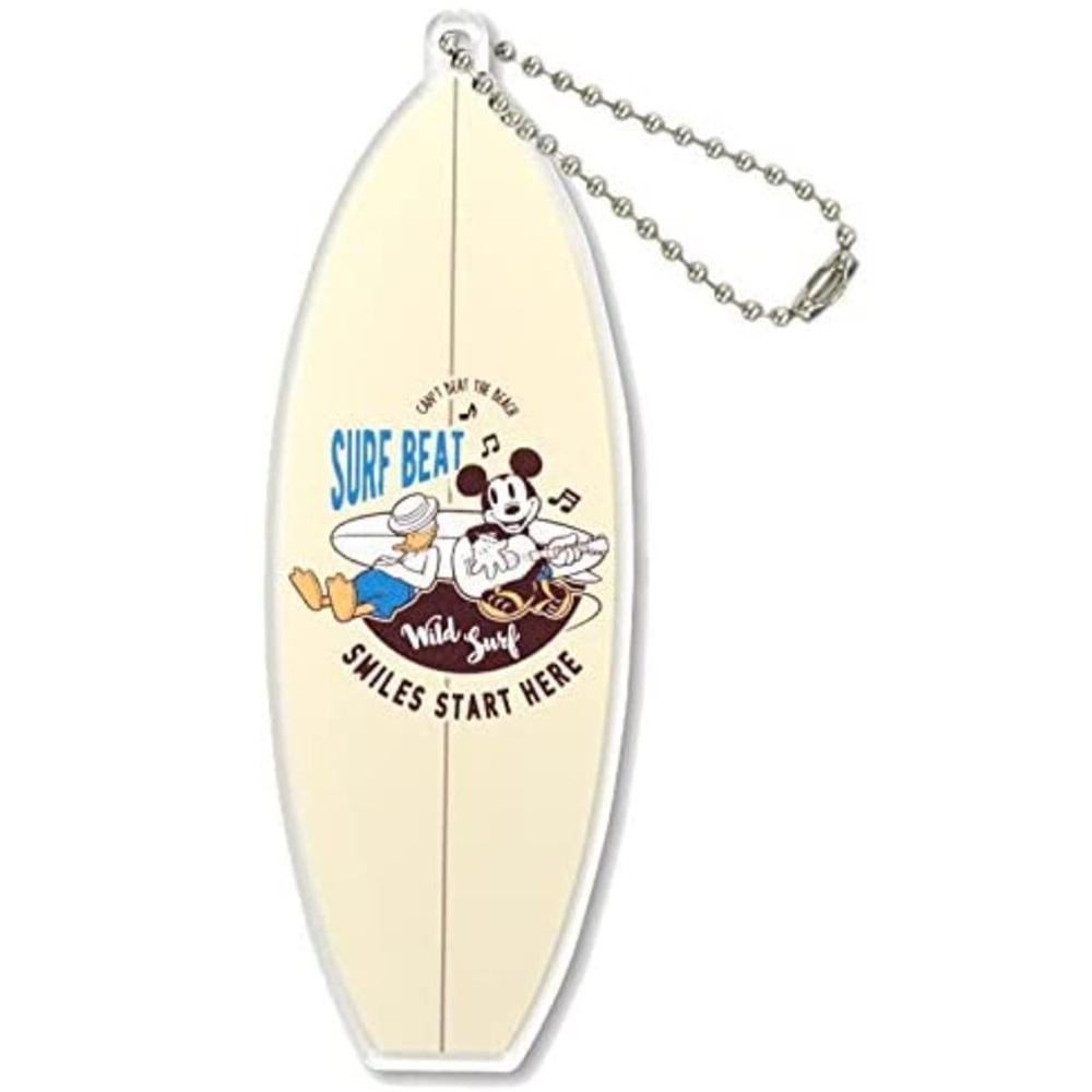 アクリルボールチェーン Surf ボード(ミッキー&ドナルド)
