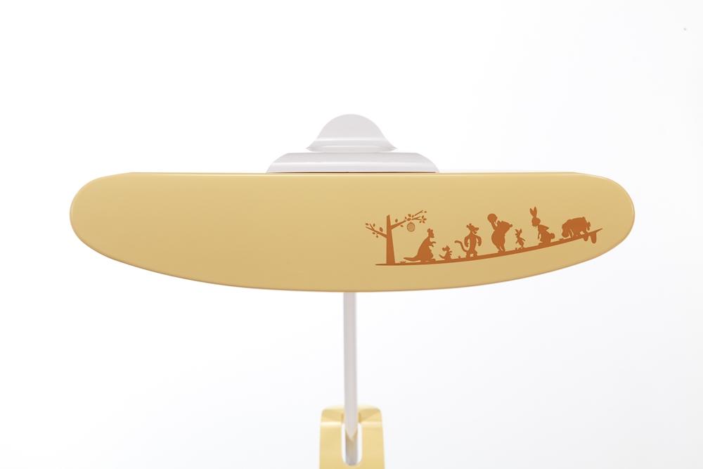【カリモク家具】プーさんLEDスタンドライト KS0156AYK イエロー