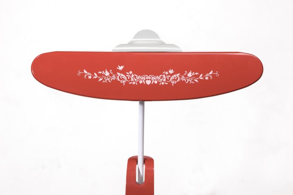 【カリモク家具】白雪姫 LEDスタンドライト KS0156ASK レッド