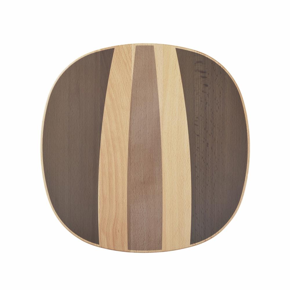 【カリモク家具】チップ スツール P35106NCK ブラウン