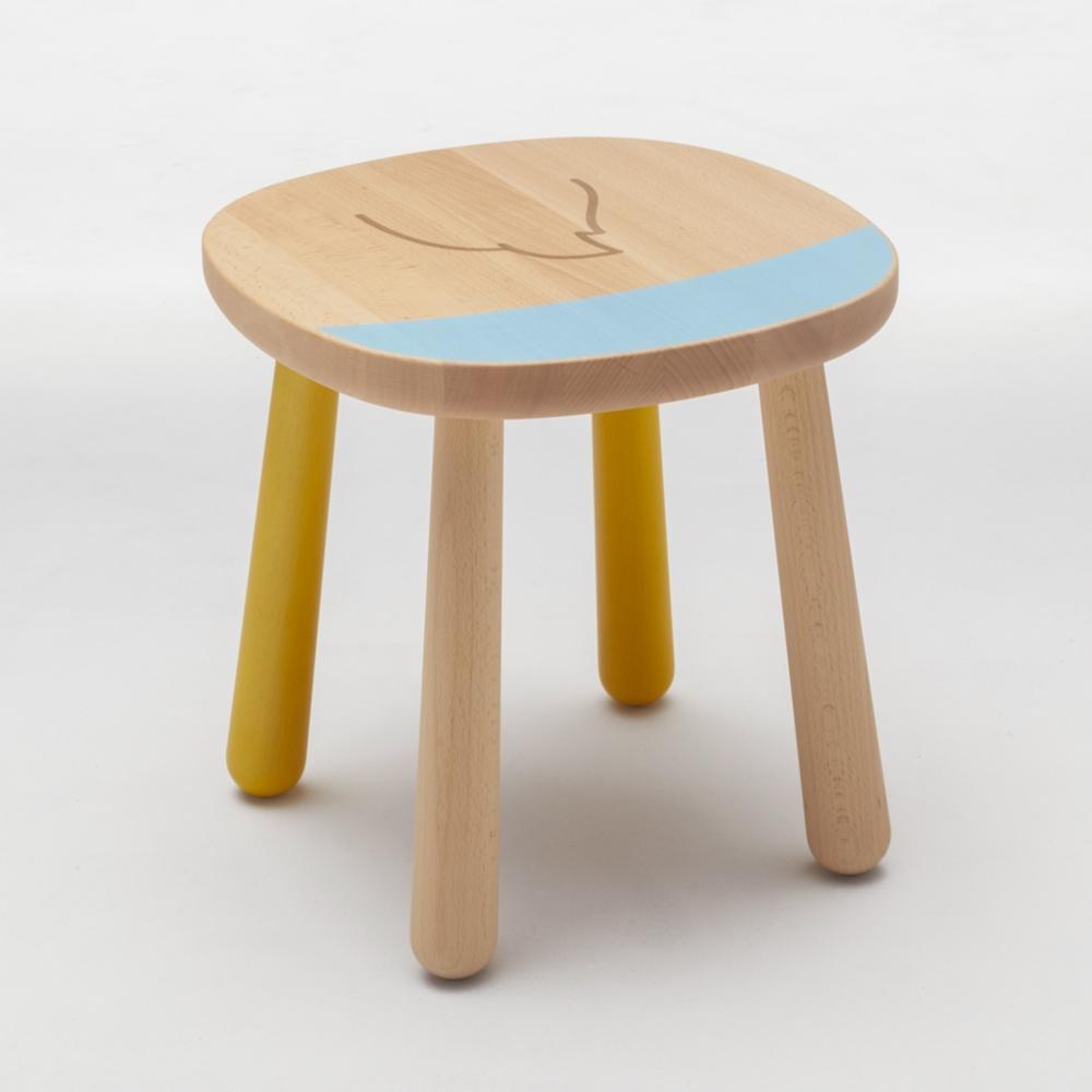 【カリモク家具】ドナルド スツール P35106NEK ブルー