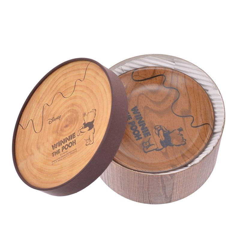 【三郷陶器】プーさん スローカフェ アソートプレートセット 紙管ボックス入り