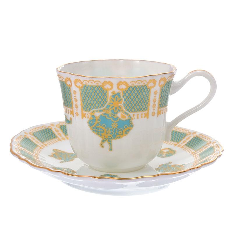 ふしぎの国のアリス デミタス碗皿 アンティーク アートコレクション
