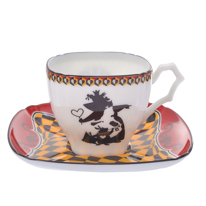 ふしぎの国のアリス デミタス碗皿 ハートの女王 アートコレクション
