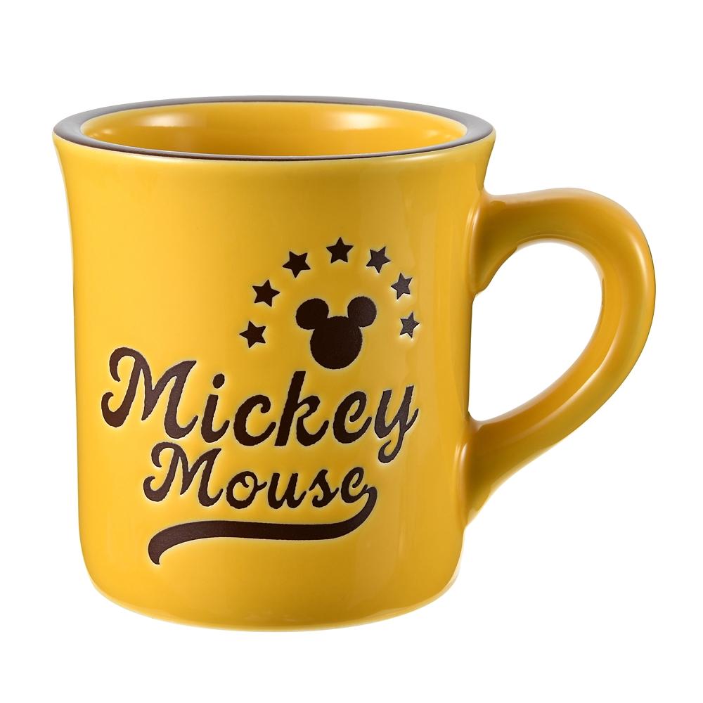 ミッキー マグカップ ブルックリンスタイル イエロー