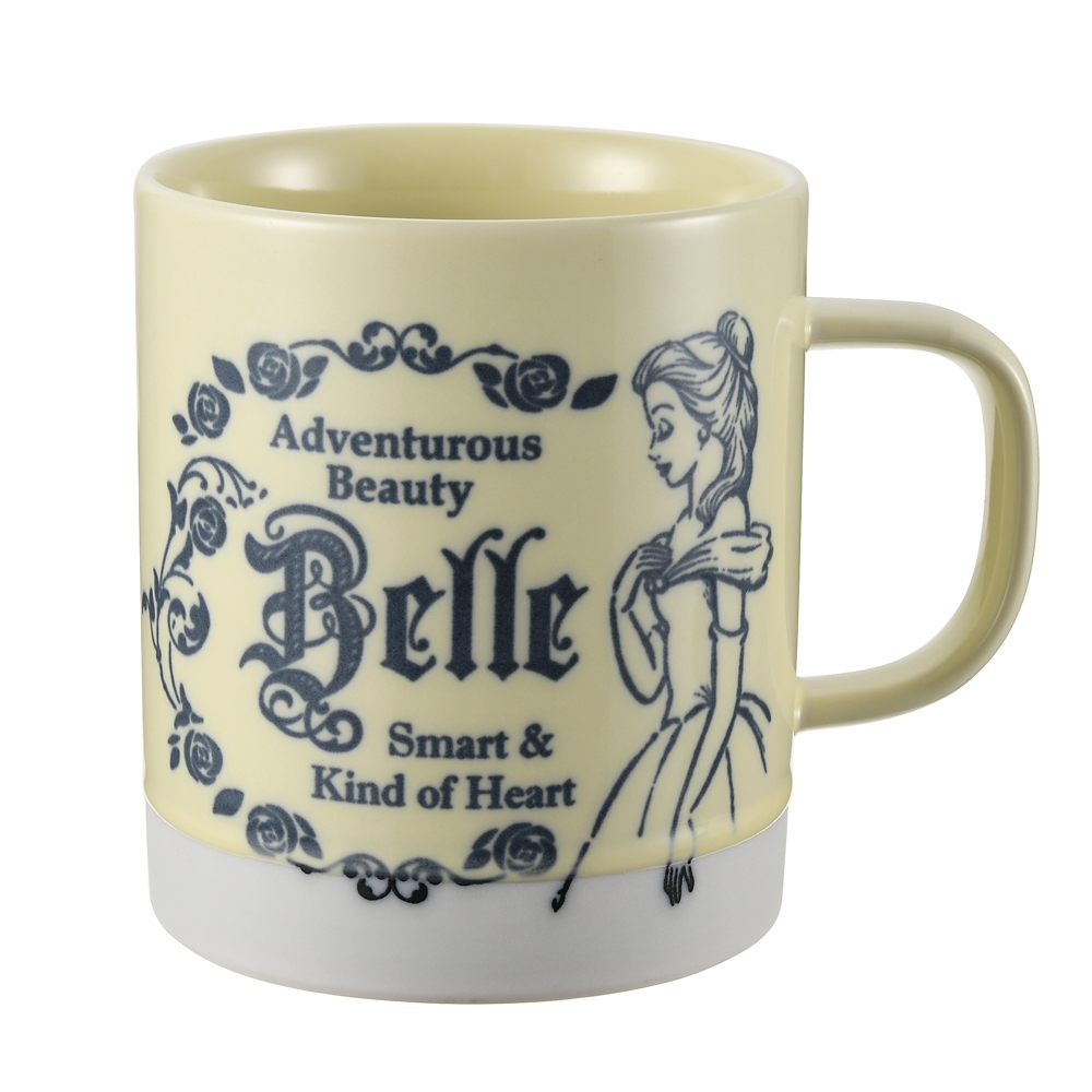 ベル マグカップ アンティーク プリンセス 美女と野獣