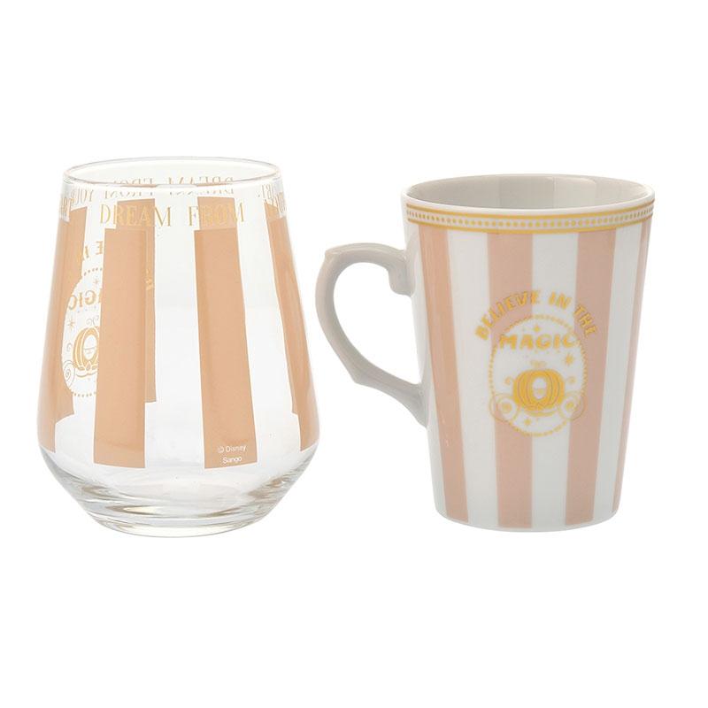 シンデレラ マグカップ・グラス セット ピンク ウェディングコレクション