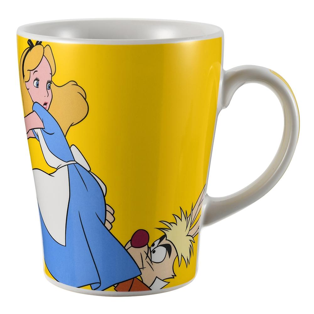 アリス&マッドハッター マグカップ アートオブアニメーション ふしぎの国のアリス