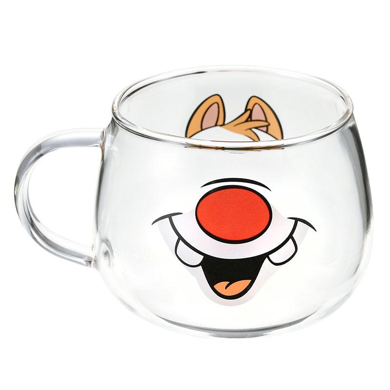 デール マグカップ 耐熱ガラス フェイスマグ