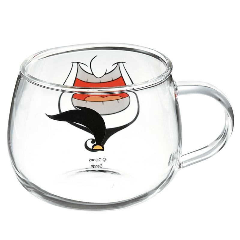ジーニー マグカップ 耐熱ガラス フェイスマグ