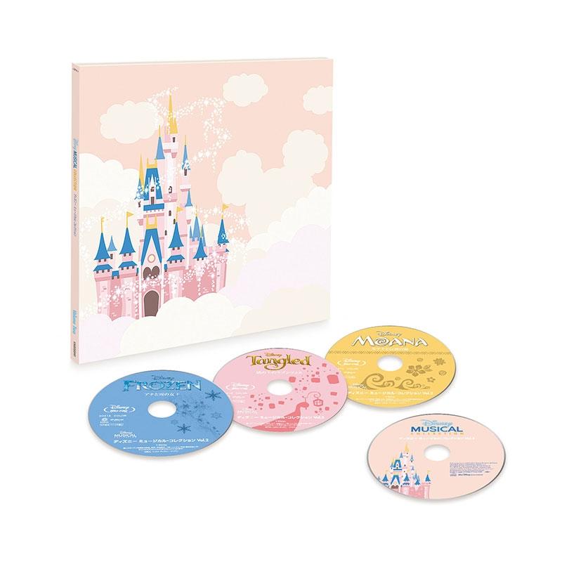 ディズニー ミュージカル・コレクション (ブルーレイ+CD) Vol.2