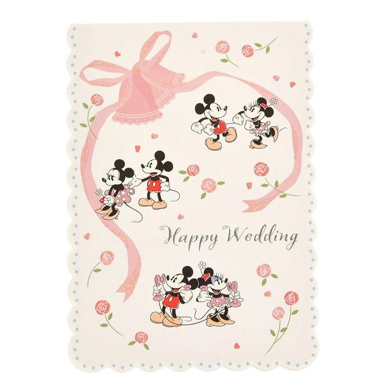 【Hallmark】メッセージカード ウェディング ミッキー&ミニー