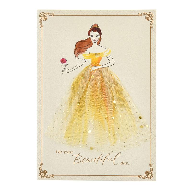 【Hallmark】メッセージカード バースデー ベル ドレス