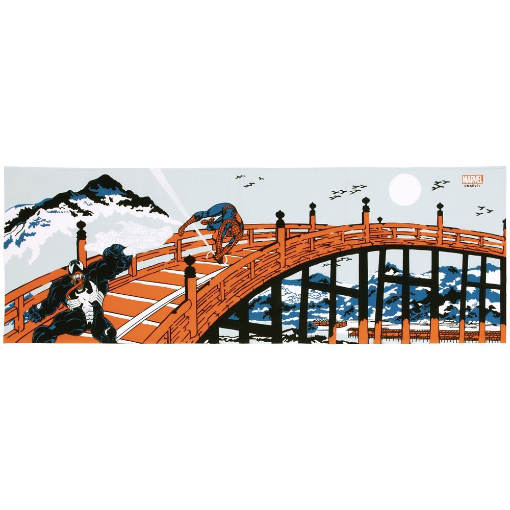 MARVEL てぬぐい:スパイダーマン 五条ノ橋