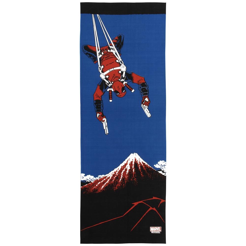 MARVEL てぬぐい:デッドプール 黒富士