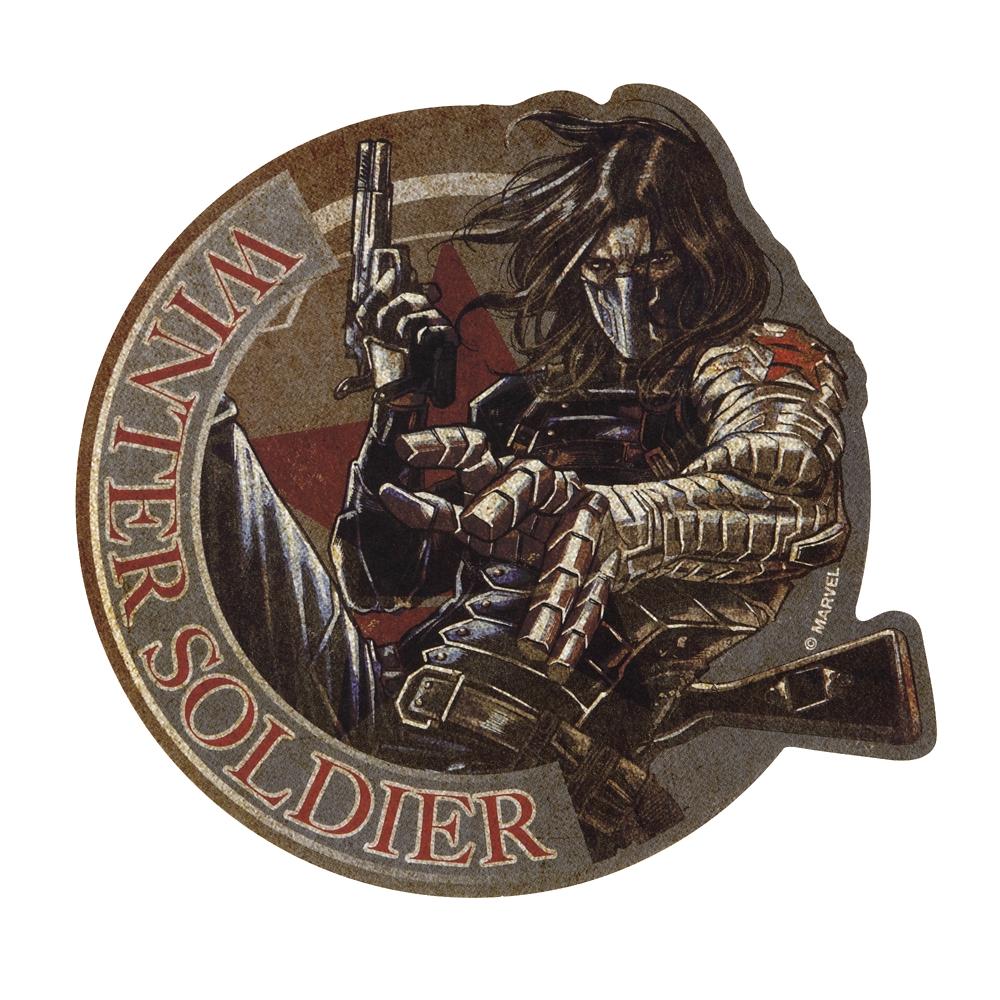 マーベル トラベルステッカー 35.ウィンター・ソルジャー
