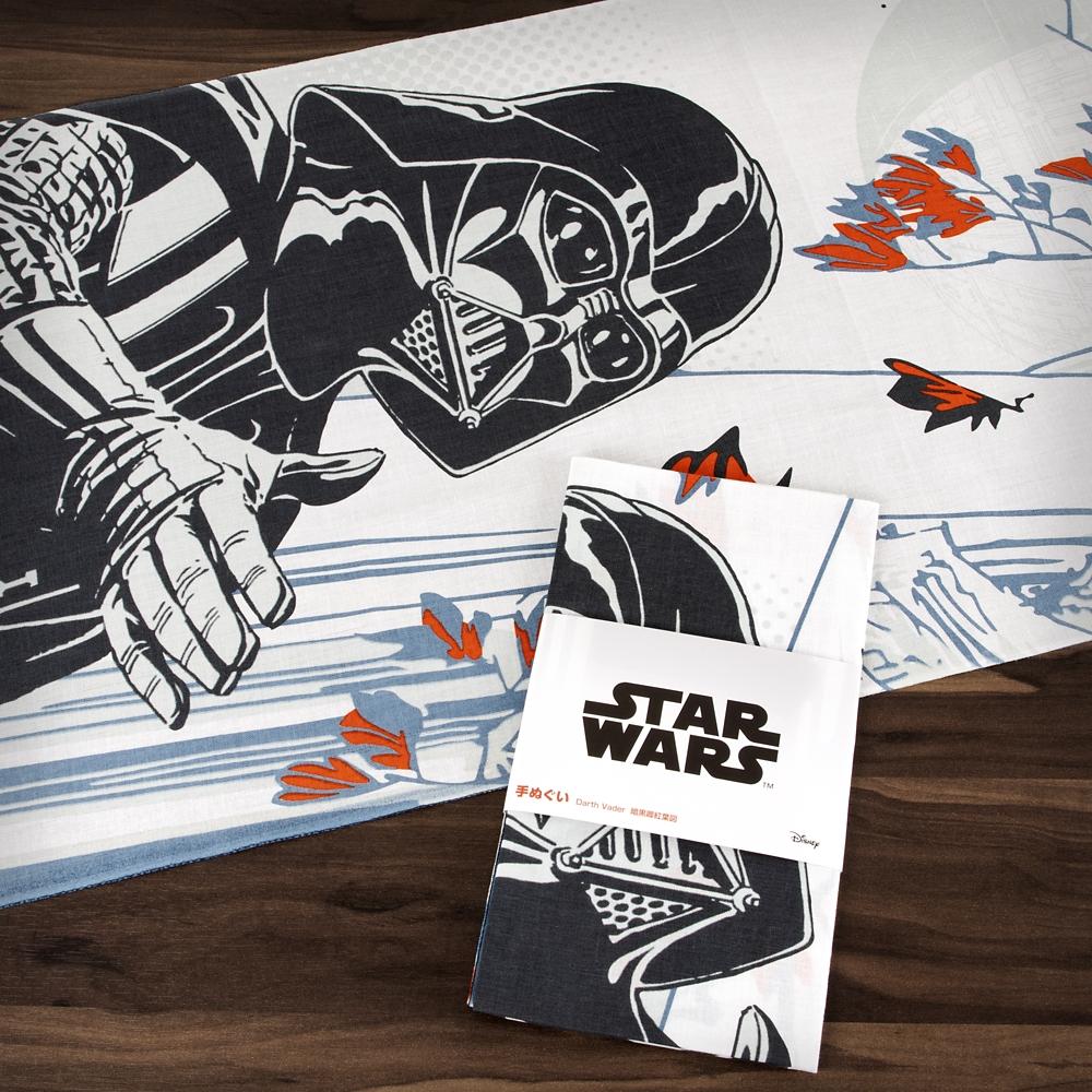 スター・ウォーズ 手ぬぐい Darth Vader 暗黒卿紅葉図