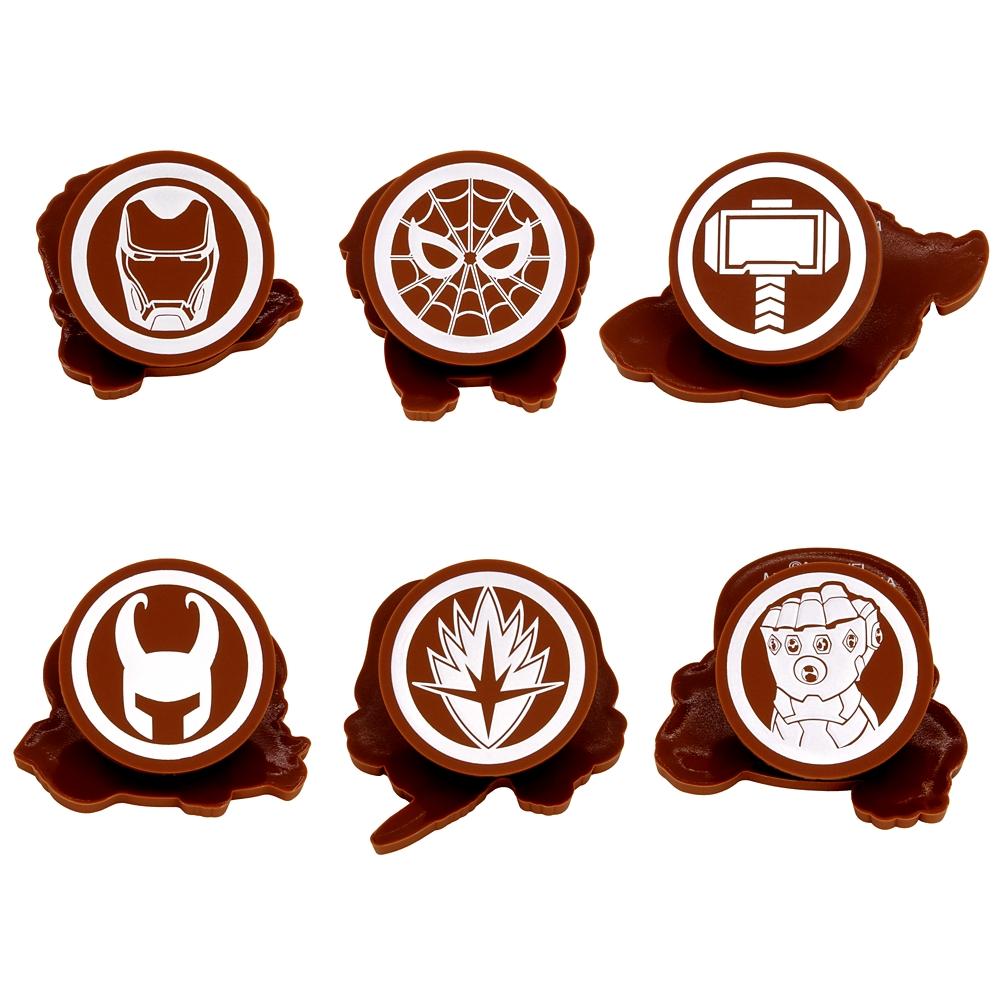 【6種セット】アベンジャーズ/インフィニティー・ウォー ラバークリップ Abox