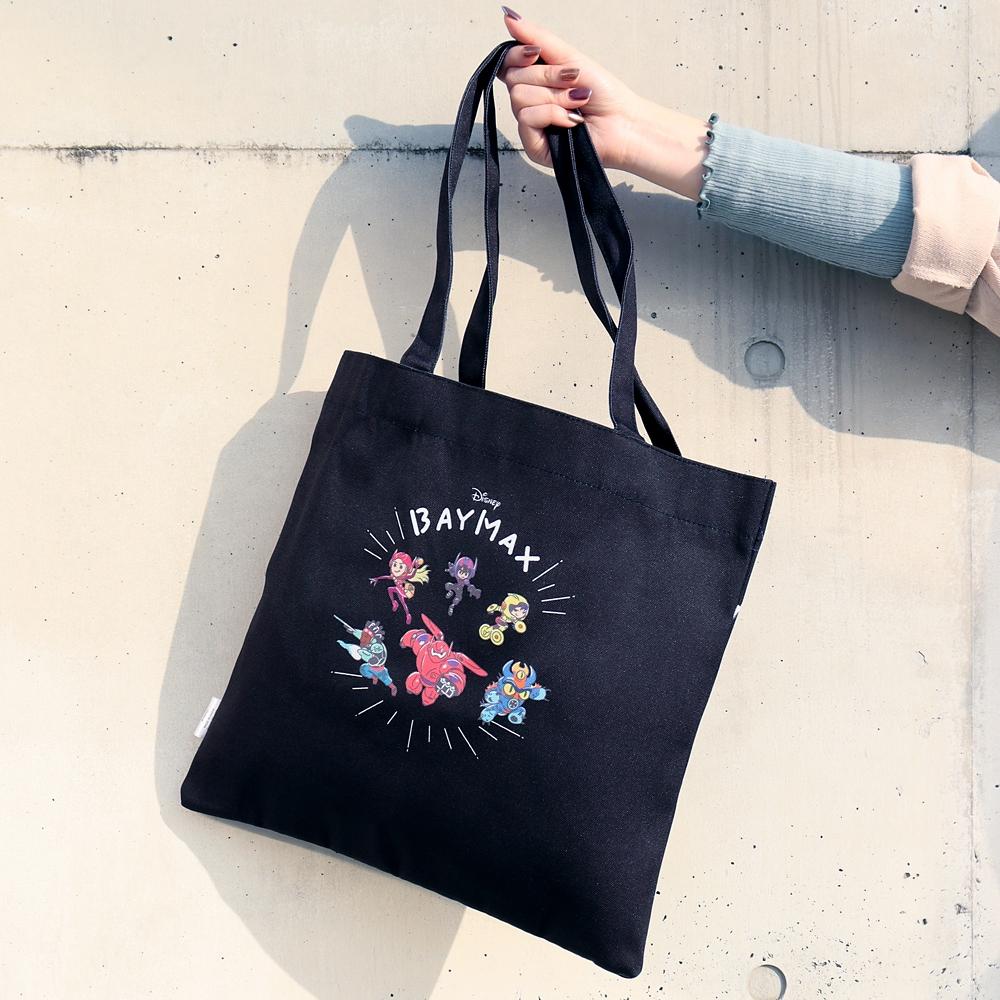【ノベルティ対象商品】ベイマックス トートバッグ ブラック