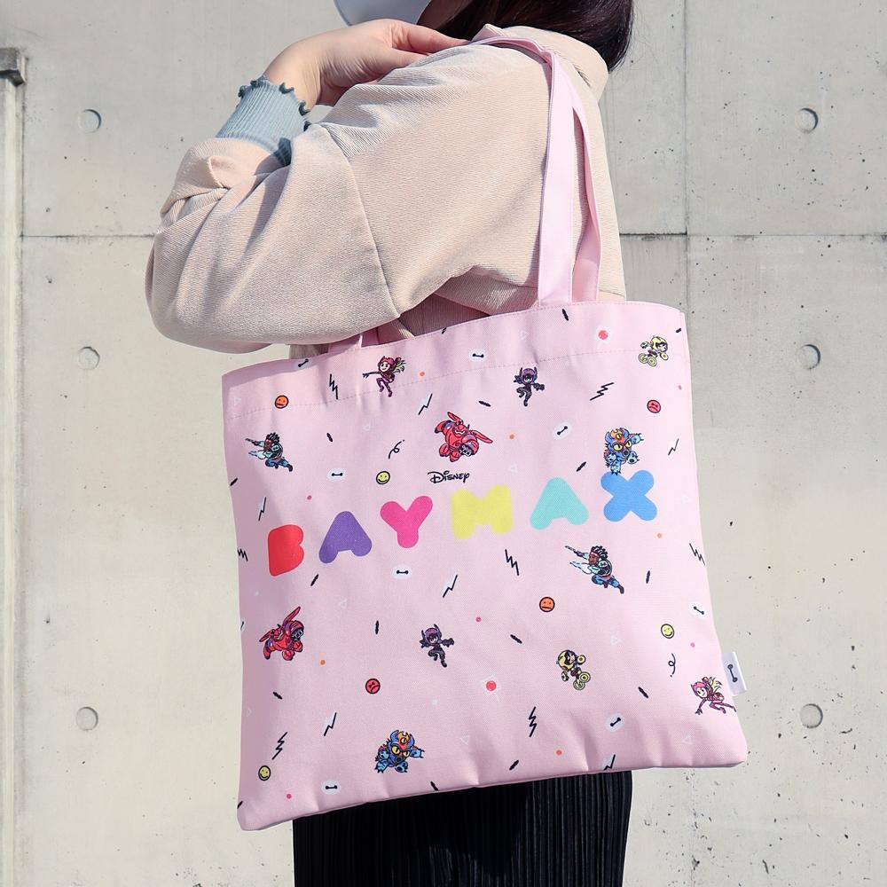 【ノベルティ対象商品】ベイマックス トートバッグ ピンク