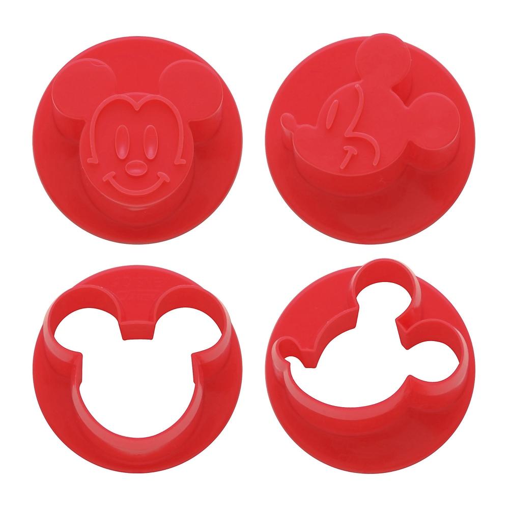 【ミッキーマウス】抜き型 2個セットLKVN1
