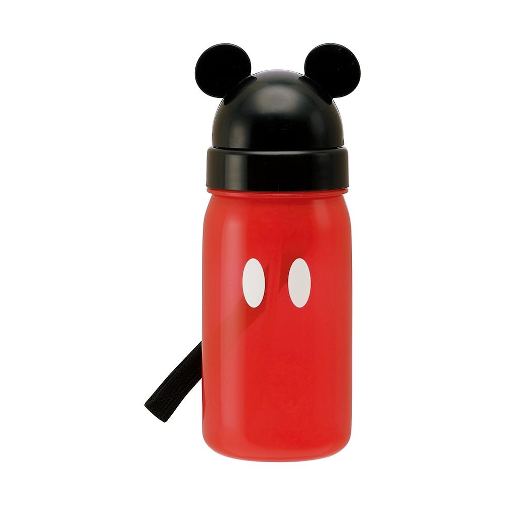 スケーター ダイカット ストロー水筒【ミッキーマウス】PBS3ST