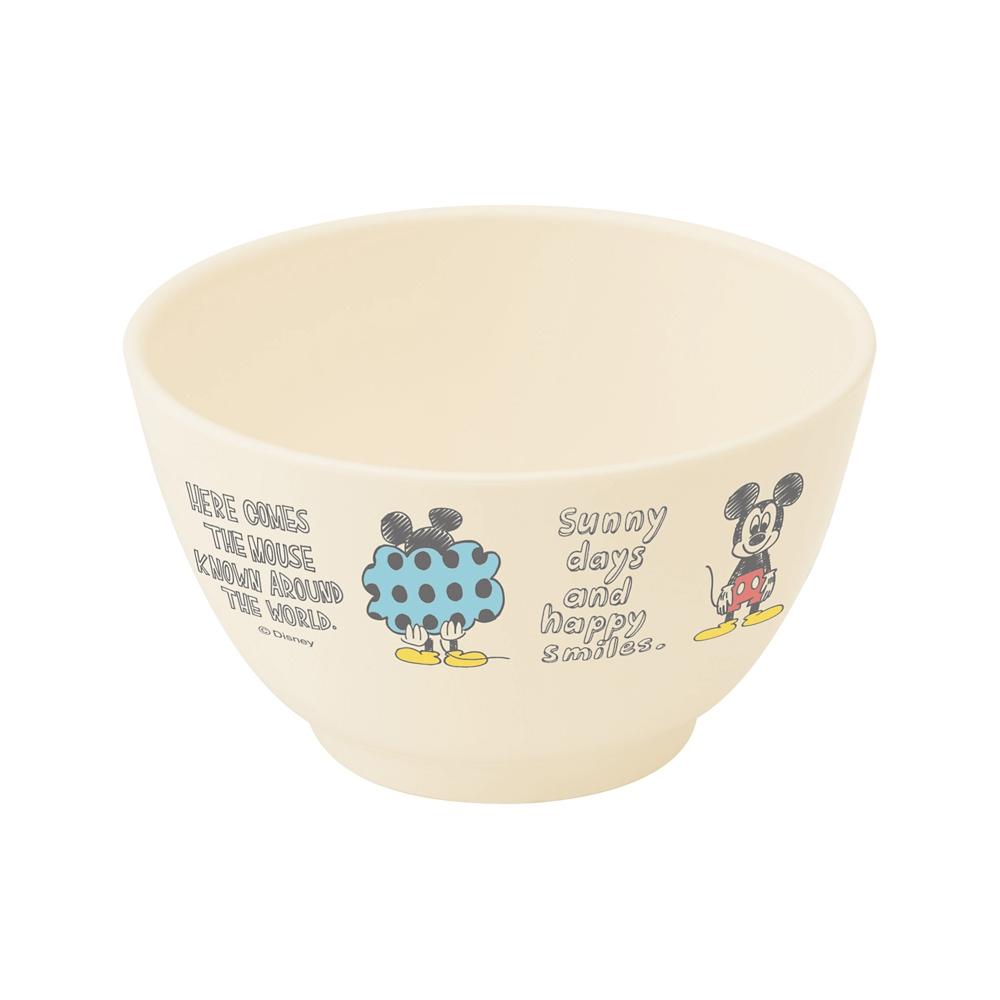 ミッキー スケッチ 食洗機対応ポリプロピレン製茶わん XP13
