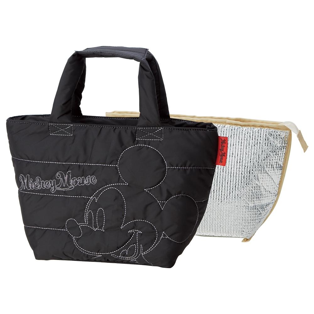 ミッキーマウス 洗えるソフトランチバッグ(2重タイプ) KLD1