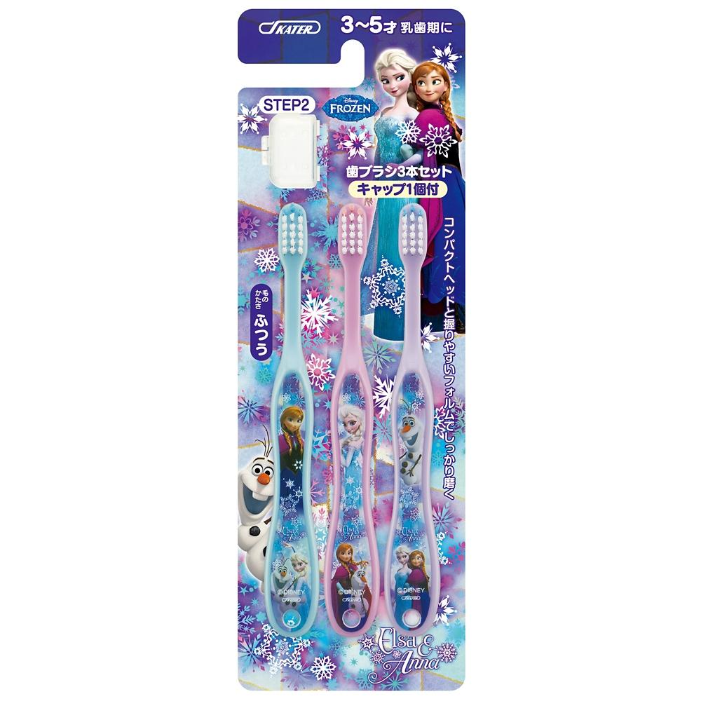 アナと雪の女王/アナ雪  子供用歯ブラシ園児用3本セットTB5T