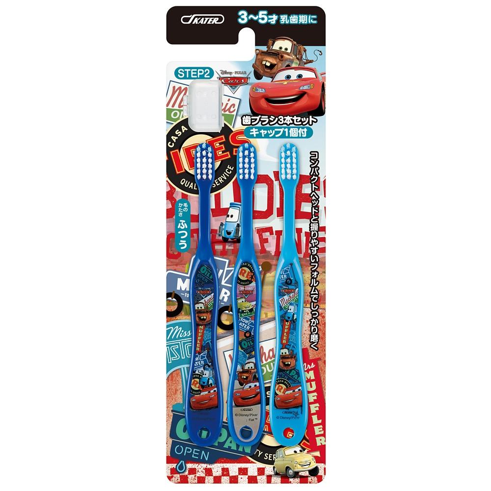 ディズニー カーズ 園児用 歯ブラシ 3本セット TB5T