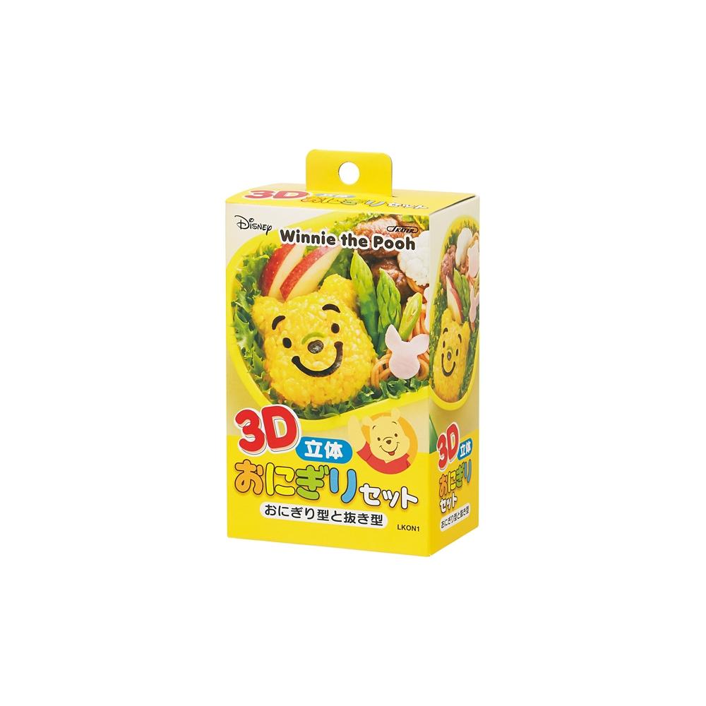 くまのプーさん 3Dおにぎりセット LKON1