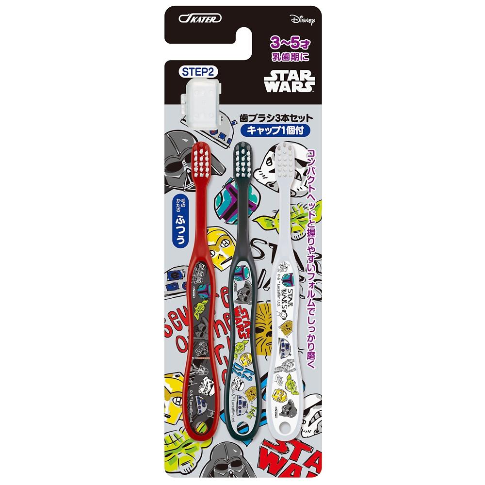 スターウォーズ スケッチ-STAR WARS- 園児用 歯ブラシ 3本セット TB5T