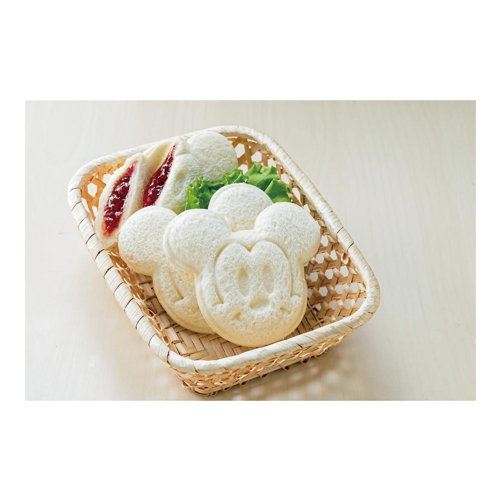 ダイカットサンドパン抜き型●ミッキー●LSW1