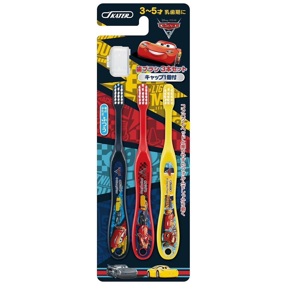 園児用 歯ブラシ 3本セット●ディズニー カーズ3/クロスロード●TB5T