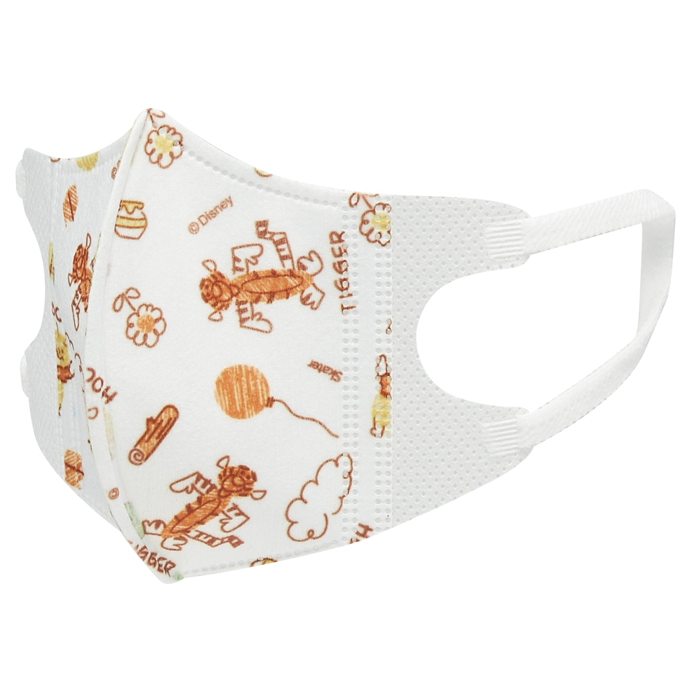 ★ベビー用品★幼児用立体マスク[5個入り]●くまのプーさん●MSKB1