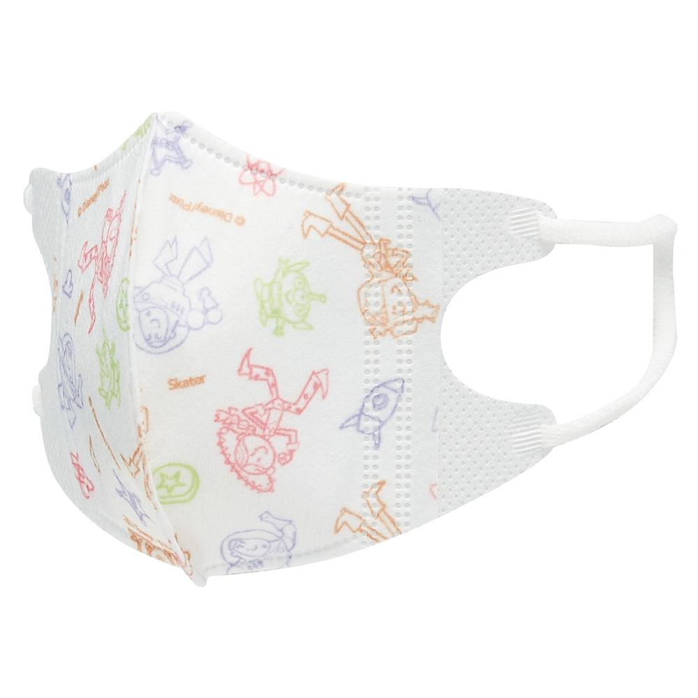 ★ベビー用品★幼児用立体マスク[5個入り]●トイストーリー●MSKB1