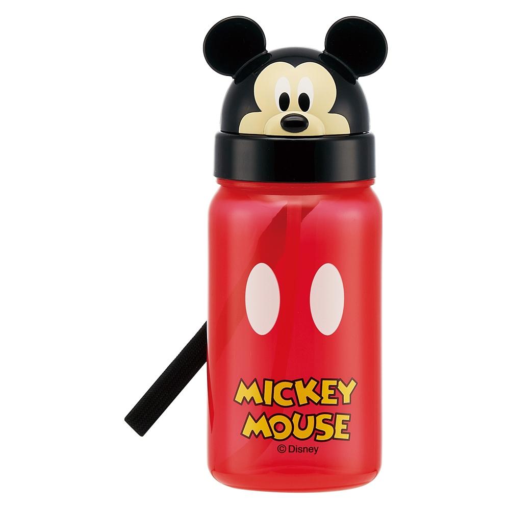 ダイカットストロー式ブローボトル[350ml]●ミッキーマウス●PBS3STD