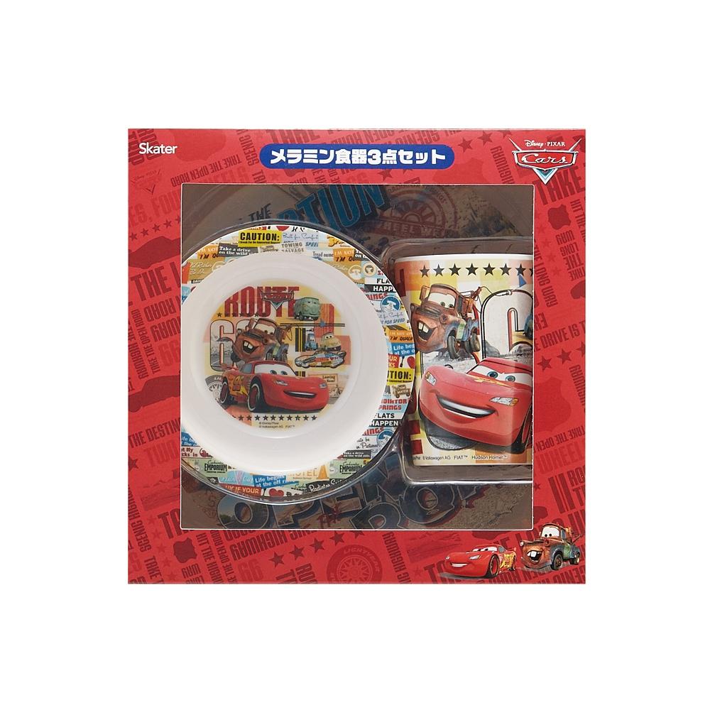 カーズ 2000円ギフトセットメラミン食器3点セット SET934
