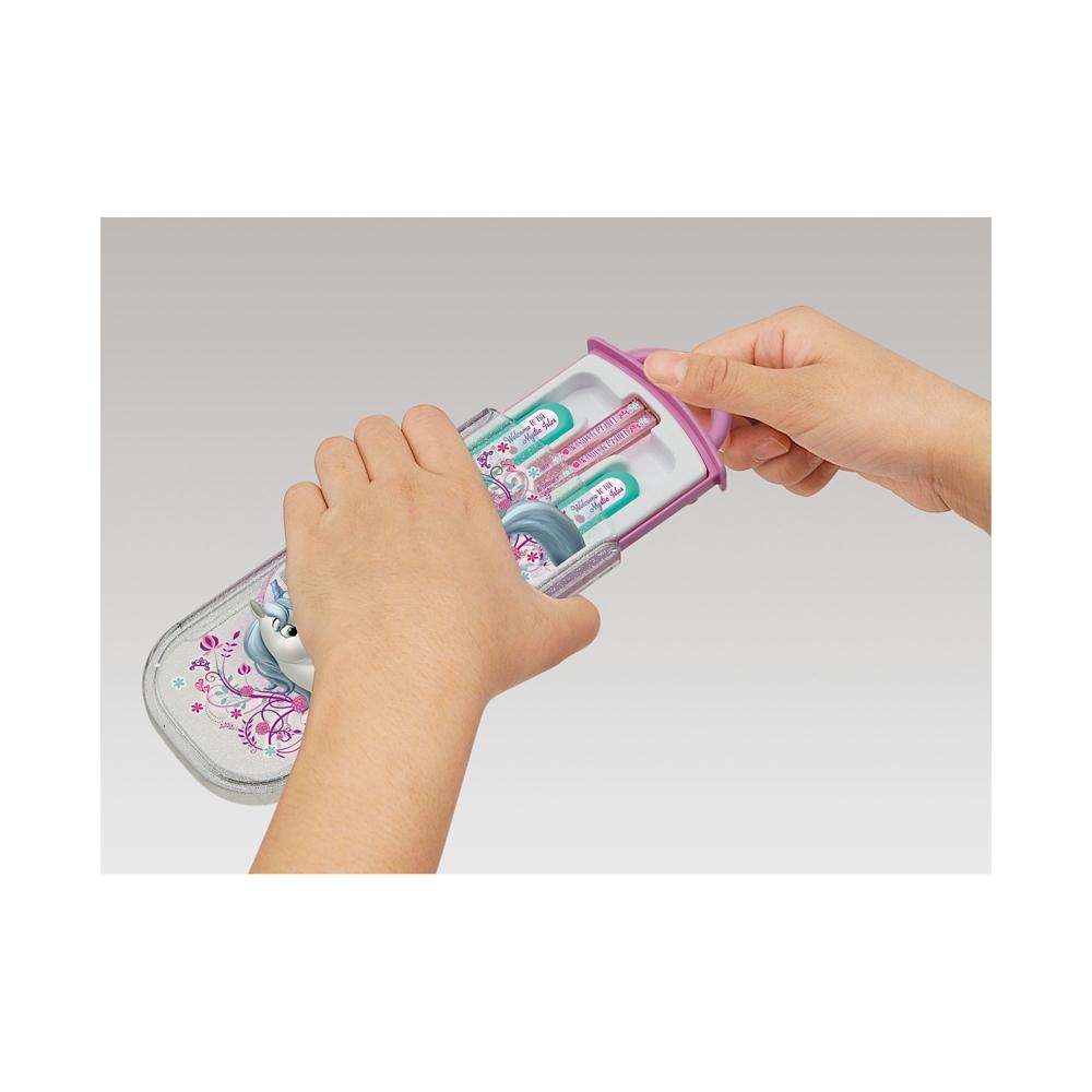 ディズニー ソフィア 食洗機対応スライド式トリオセット[名前入れスペース付きハシ] TCS1AM