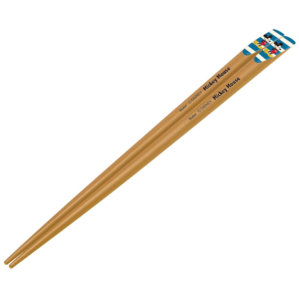 天削箸[22.5cm] ミッキー 青×白  ANTS45