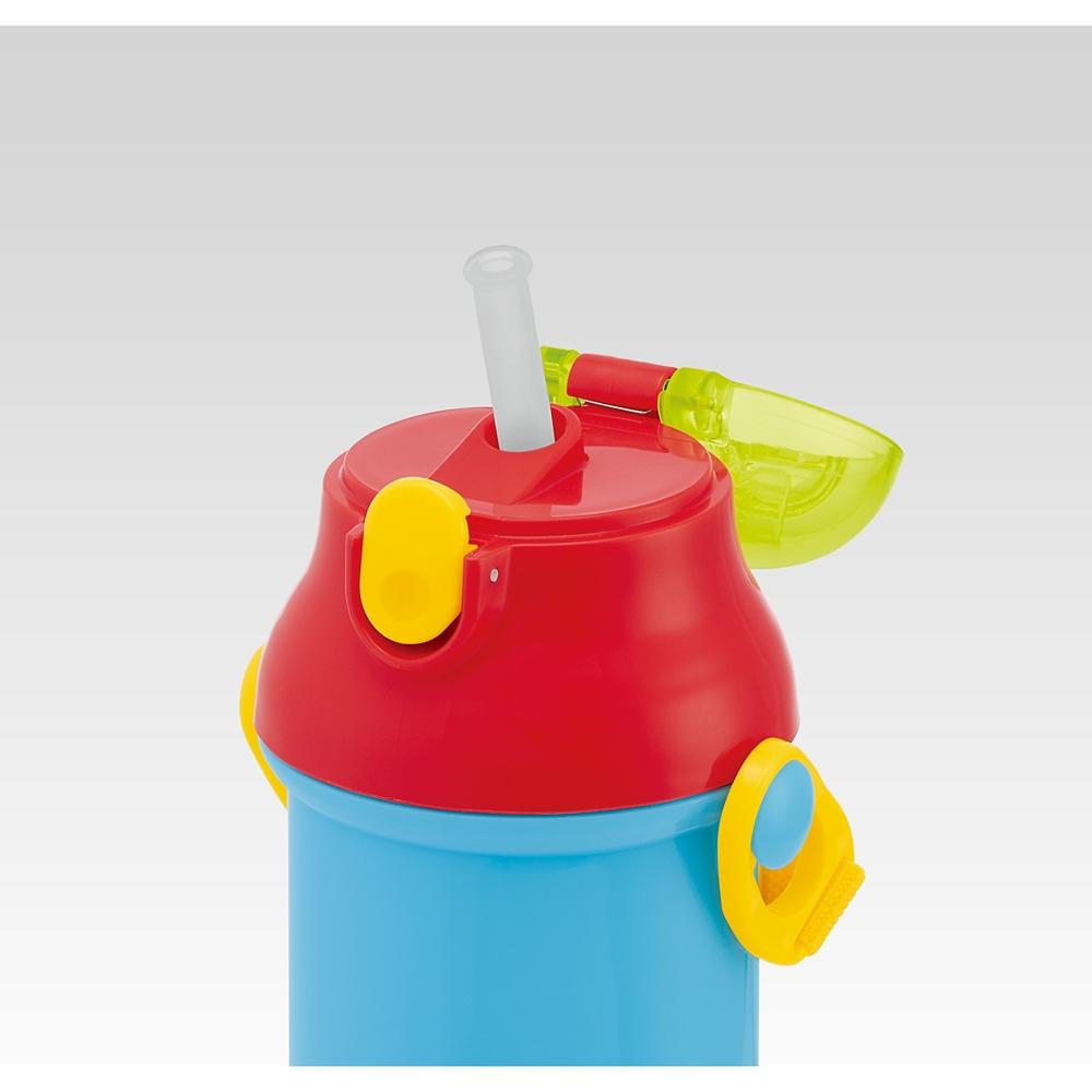 食洗機対応プラ製プッシュ式ストローボトル[400ml]●トイストーリー●PSB4P