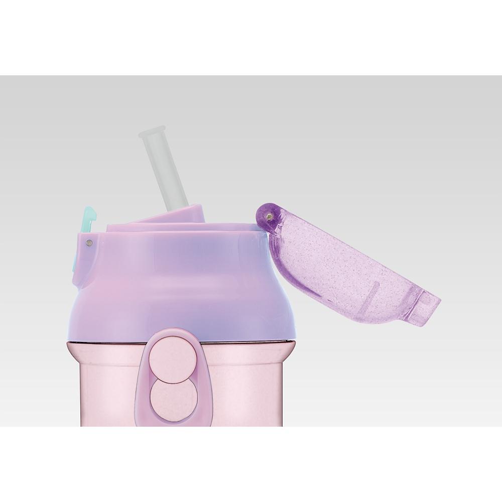 食洗機対応プラ製プッシュ式ストローボトル[400ml]●プリンセス●PSB4P