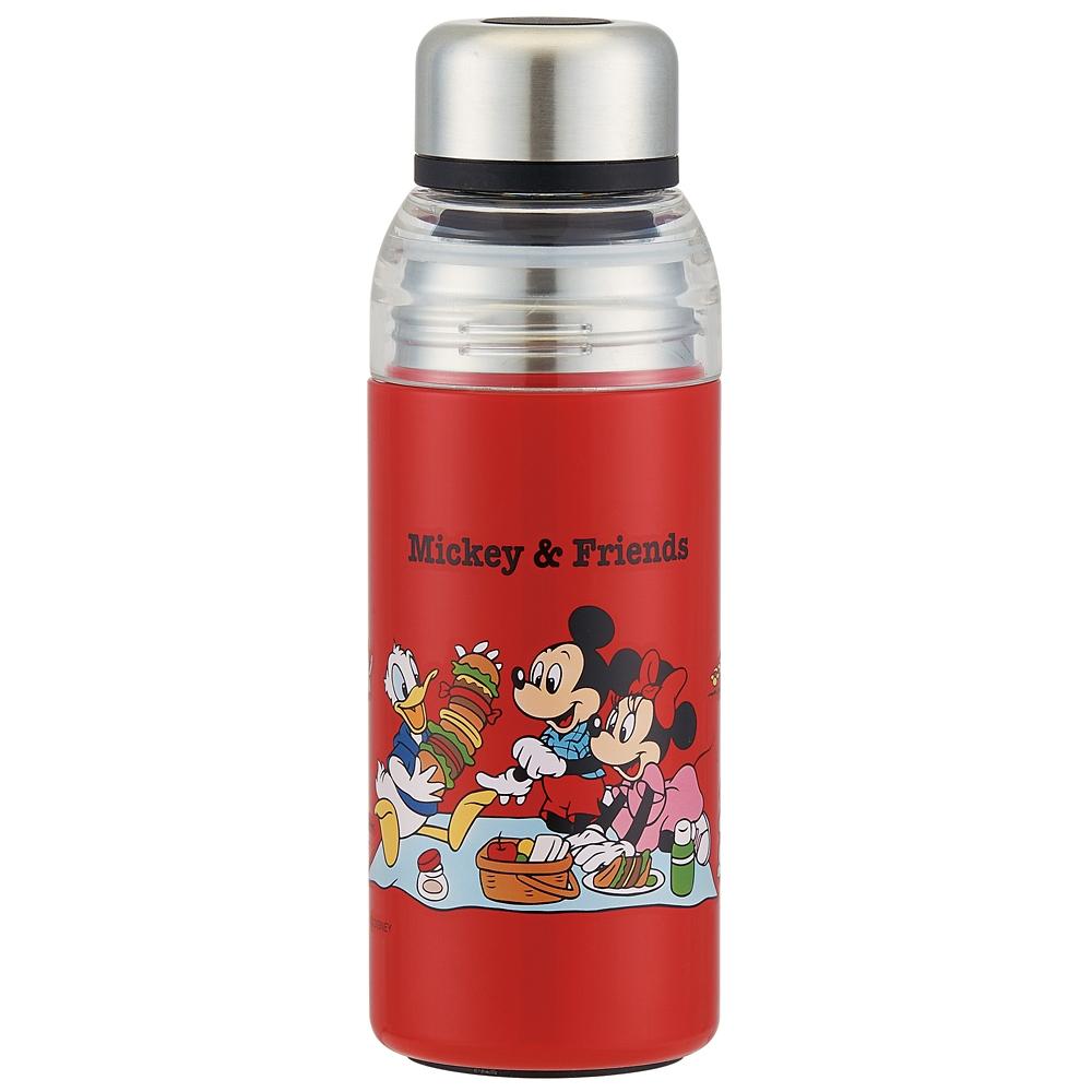 セパレートステンレスボトル[400ml]●ミッキー&フレンズ ピクニック●SSPR4